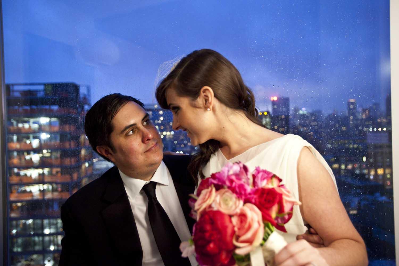 Rainy Wedding in New York City