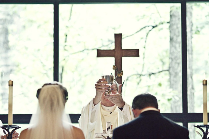 A wedding in Beaver Creek Colorado in the spring