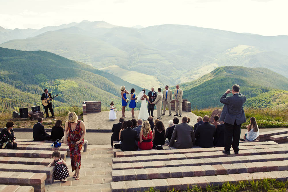 The Vail Wedding Deck