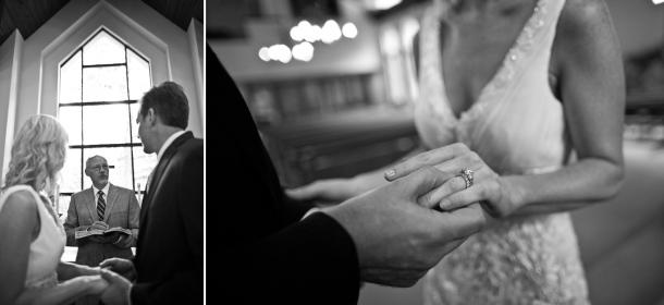 A wedding at the Beaver Creek Chapel