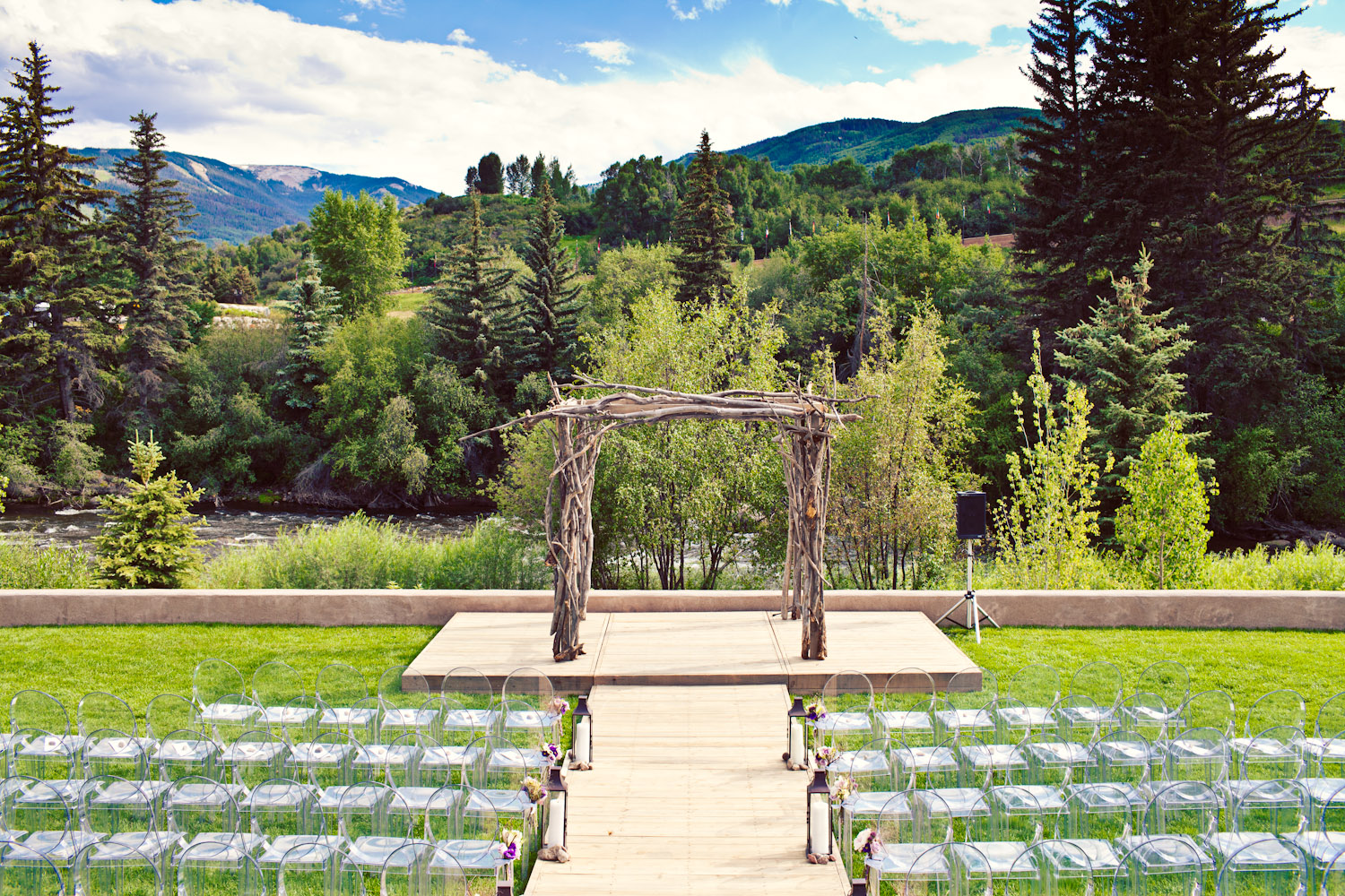 Wedding at the Westin in Beaver Creek Colorado.