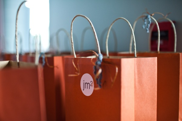 Rehearsal Dinner Gift Bags for Guest.