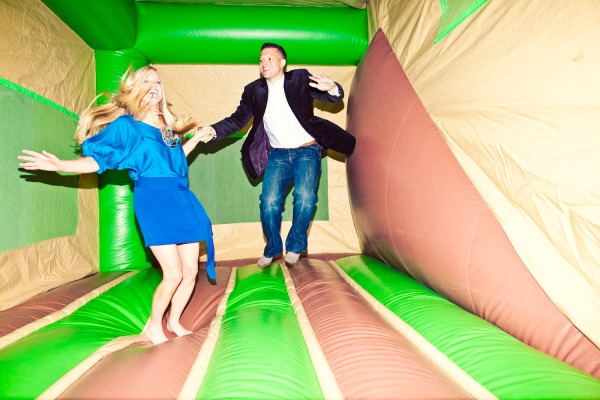 Jumpy Castle at a wedding