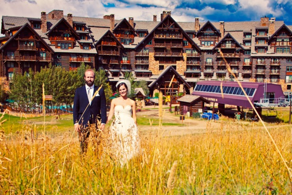 Wedding at the Ritz Carlton in Bachelor Gulch