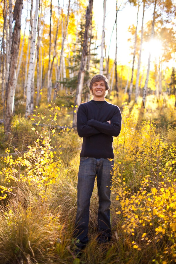 senior portrait photographer in Colorado