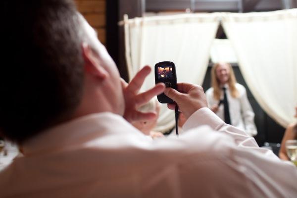 Wedding Reception at the Sky hotel in Aspen Colorado