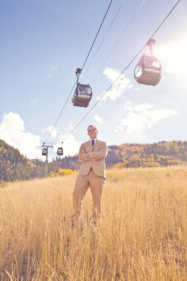 Amazing wedding in Aspen Colorado