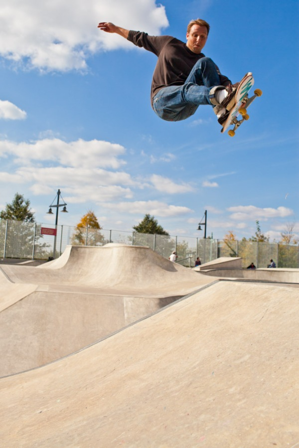 Chelsey Skateboard park, New York City