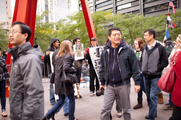 Photography from Occupy Wall Street, New York City