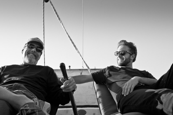 sailing with my dad