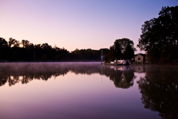 Early in the morning in Warton Creek, Maryland