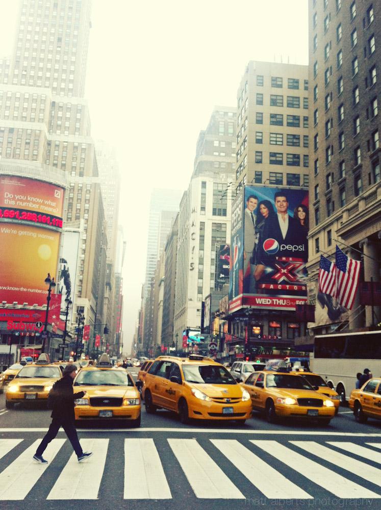 New York Portrait Photographer | mattalbertsphotography.com City Street Photography