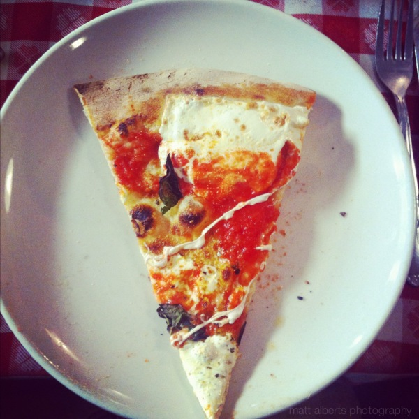 A Slice of brooklyn Pizza tour New York City New York, Show on the Travel Channel.