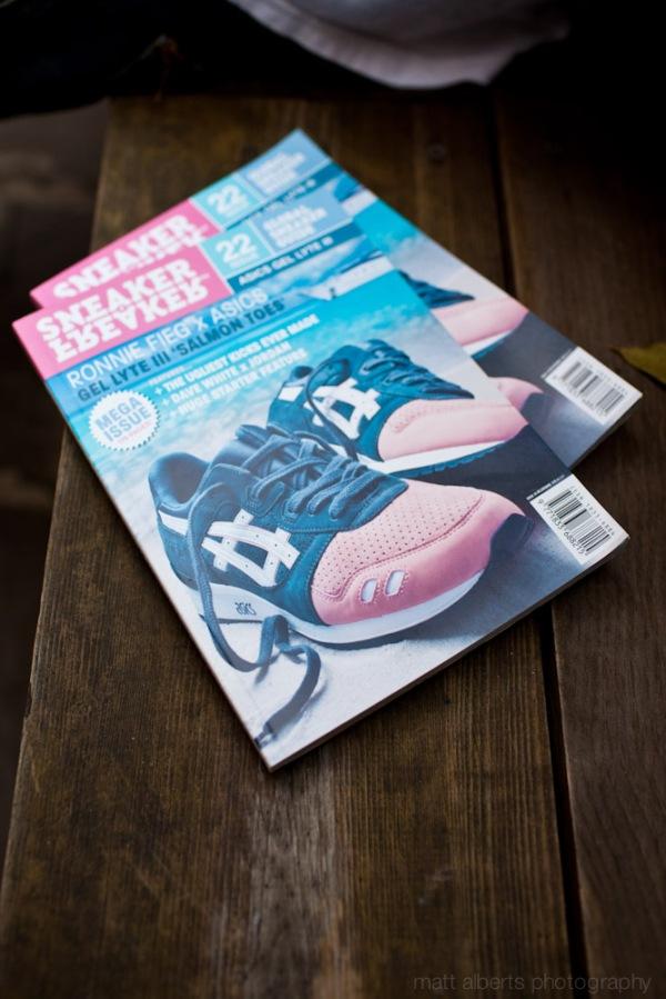 New issue of Sneaker Freaker, New York City Ny.