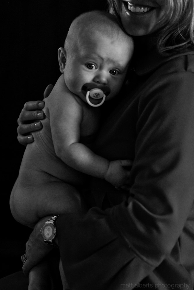 High end family portrait photography