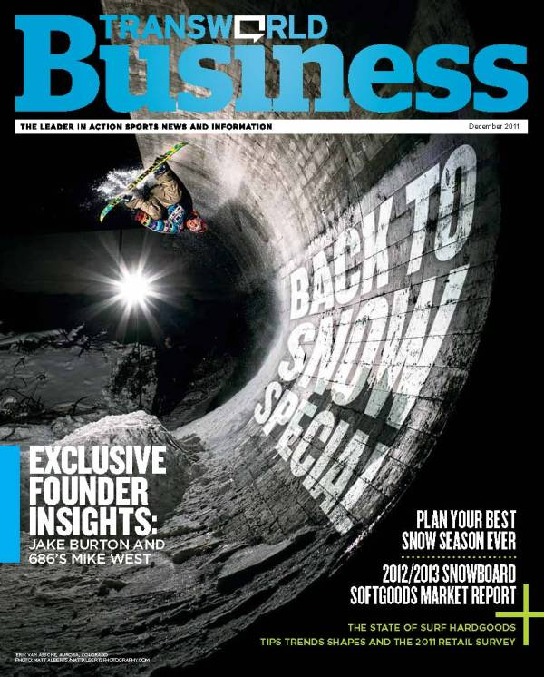 The Cover if Transworld Business 2011