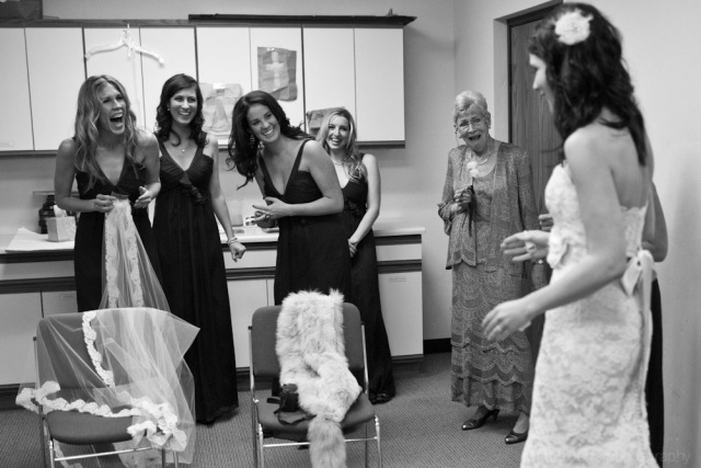 A wedding at Vail Wedding Chapel