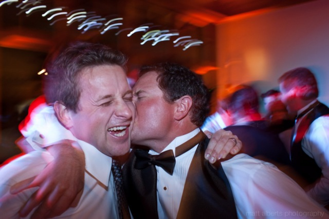 Funny dancing photos at a wedding in Vail Colorado