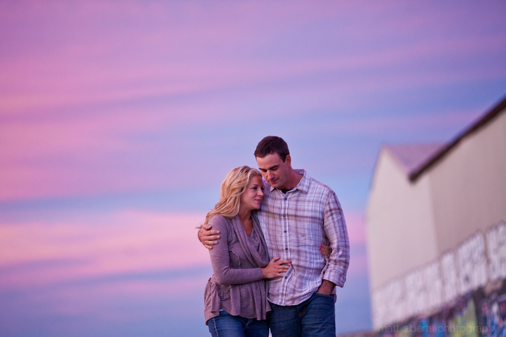 Engagement Photography at Sunset