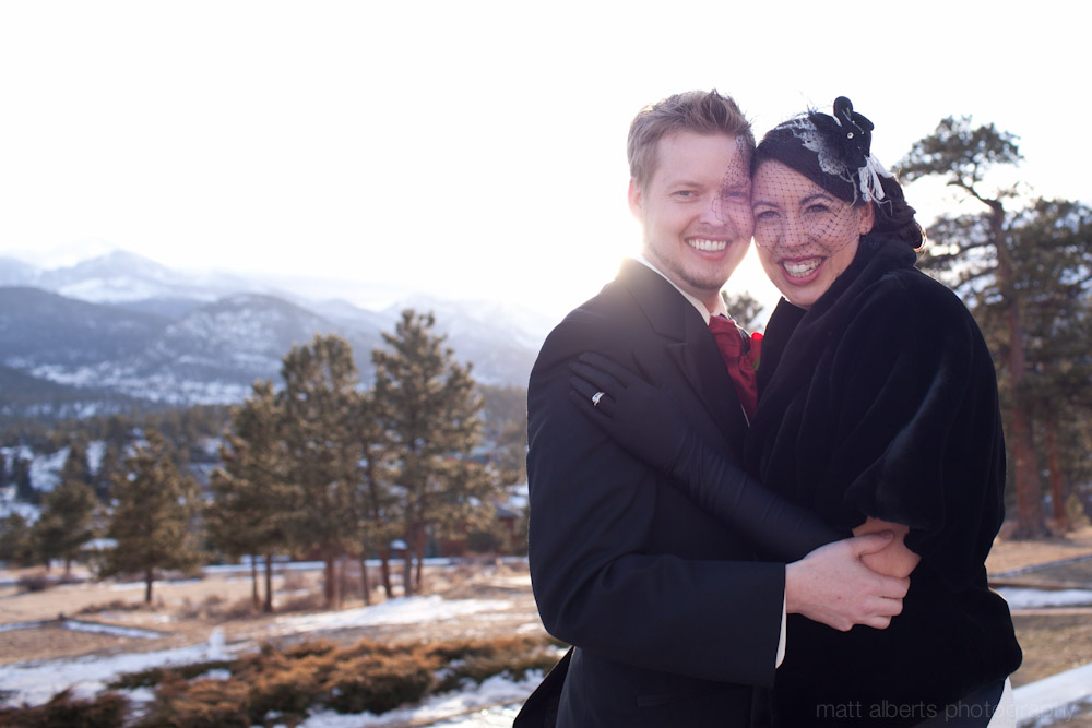 A Winter Wedding at the Stanley Hotel in Estes Park Colorado