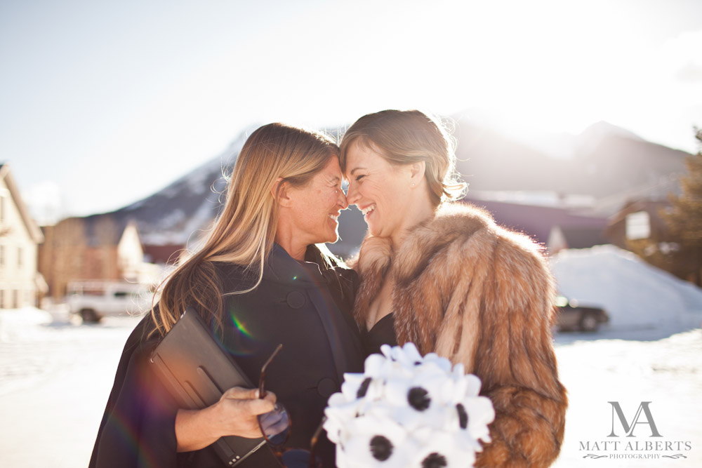 Winter Wedding in Colorado