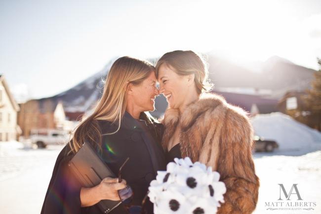 Winter Wedding in Colorado